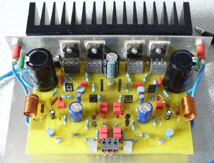 Mjr7 Mk5 Mosfet Power Amplifier